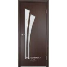 Образец:Дверное полотно ПВДЧ 20-8(Арт.С7О3-В)(Дверь ЮНИ С-7-03 800 Венге),Беларусь