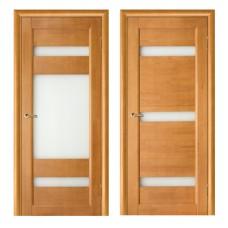 Образец:Дверь Вега 2(горизонталь)ДО 2000*800 Массив(сосна)светлый орех ПВ1ДО20-8Ф002-30,Беларусь